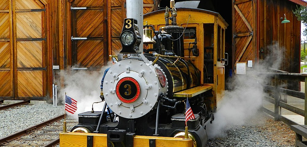 poway-midland railroad Baldwin Steam Engine