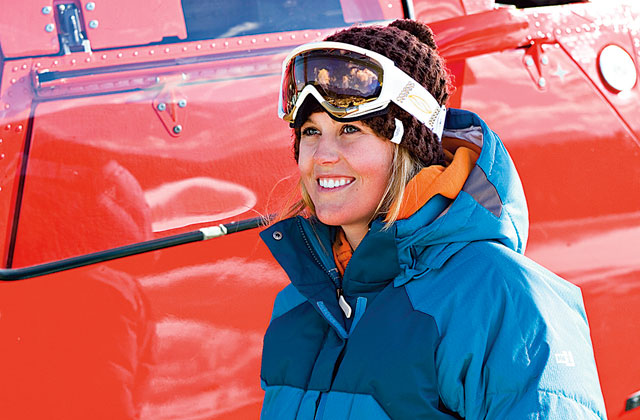 Freeskier Sarah Burke died this morning at a Salt Lake City hospital following injuries sustained in a Jan. 10 crash. Photo: Paul Morrison