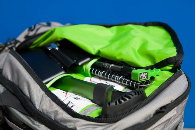 Functional and well positioned pockets are a plus on this pack. PHOTO: David Reddick