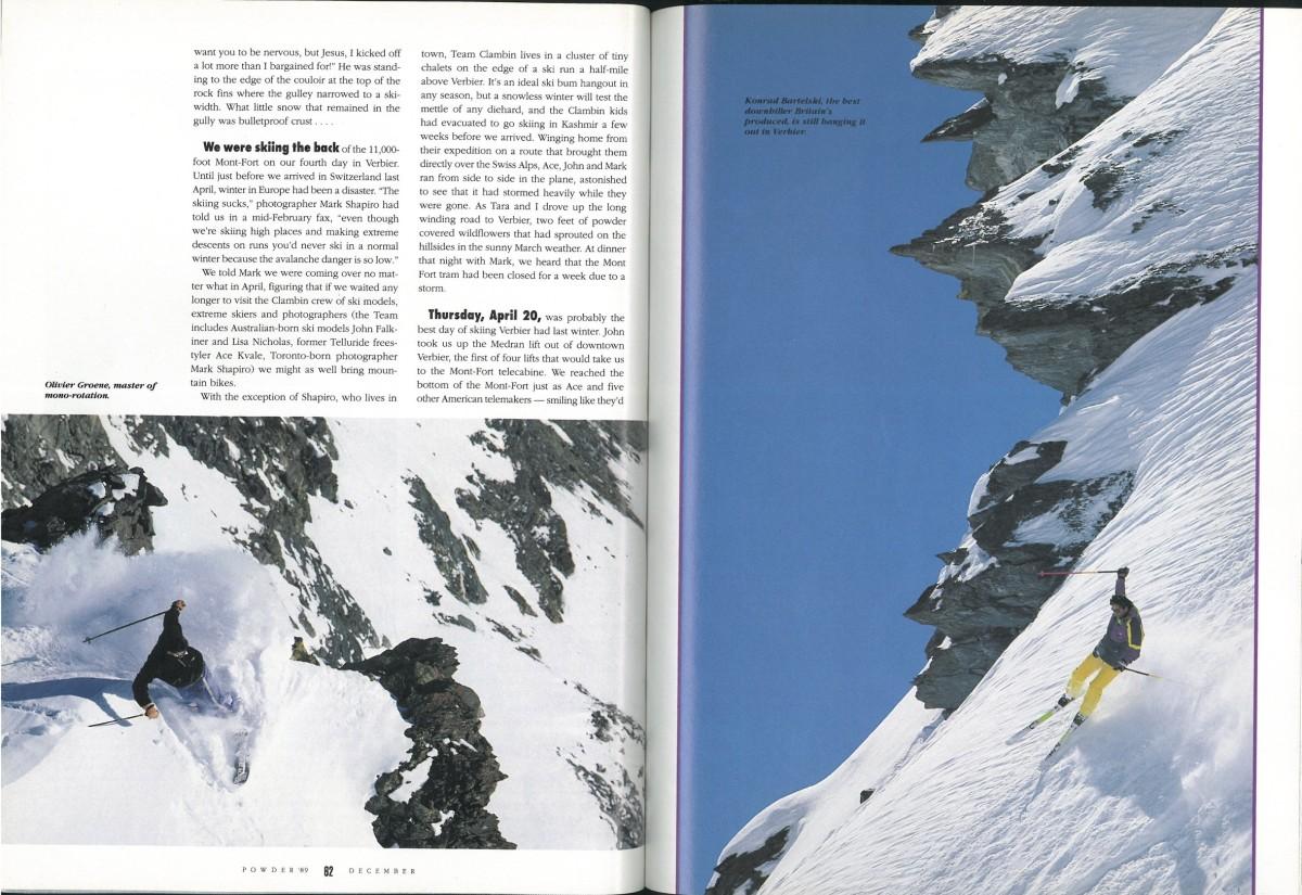 Blown Away in Verbier | POWDER Magazine