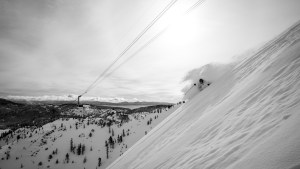 Skier: George Hjelte, Squaw Valley