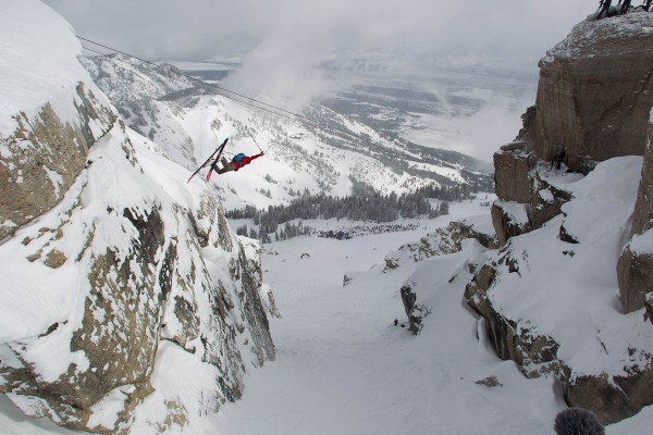 Jeff Leger at the Kings and Queens of Corbets Event, Jackson Hole, WY.