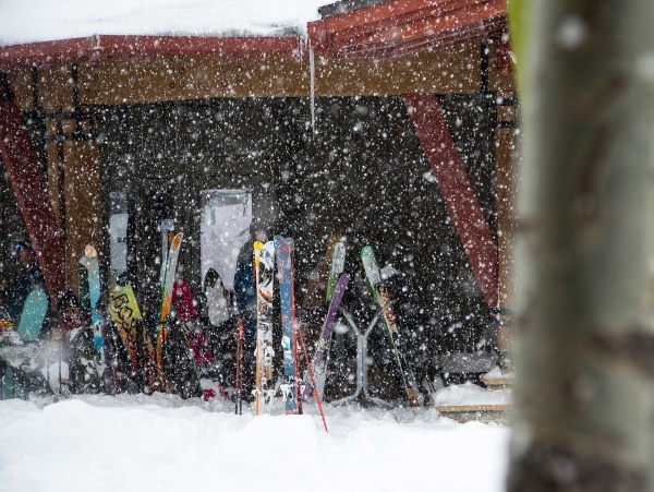 All lined up at the Slot Bar. PHOTO: Ryan Salm