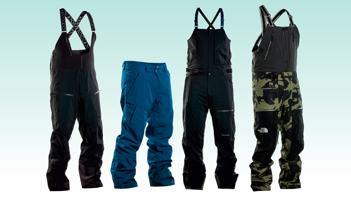 The Best Men's Ski Pants and Bibs of the Year POWDER  POWDER