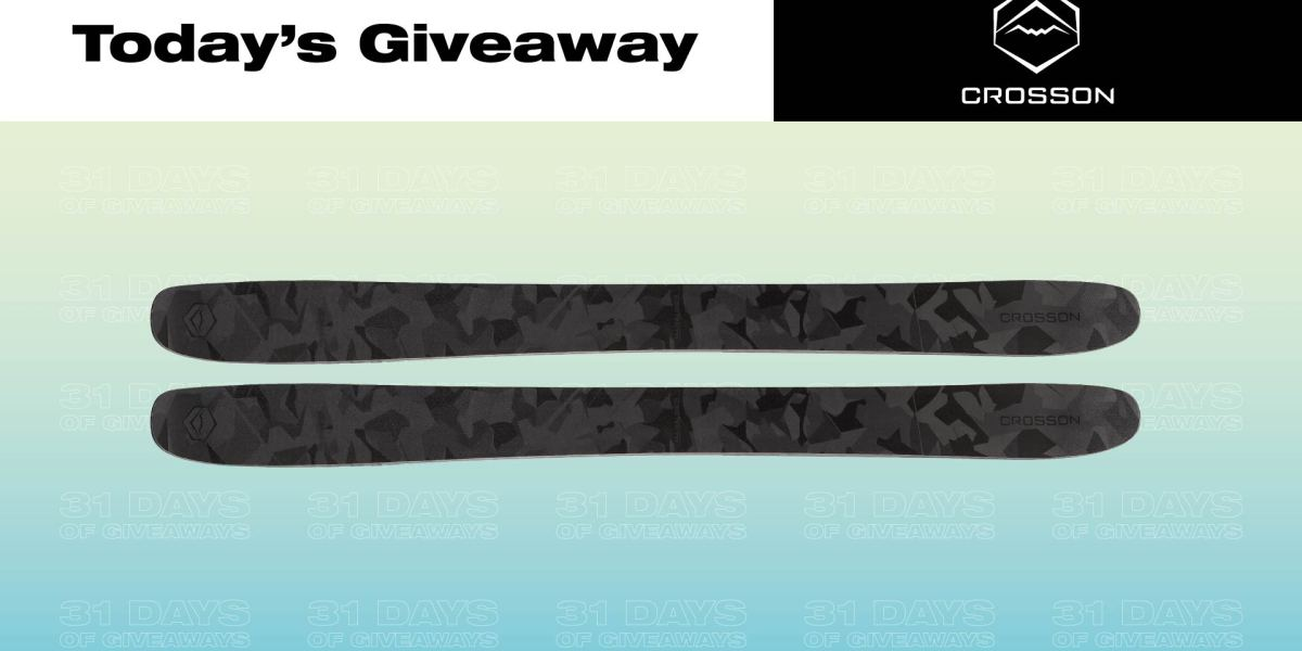 31 Days of Giveaways—Crosson Skis