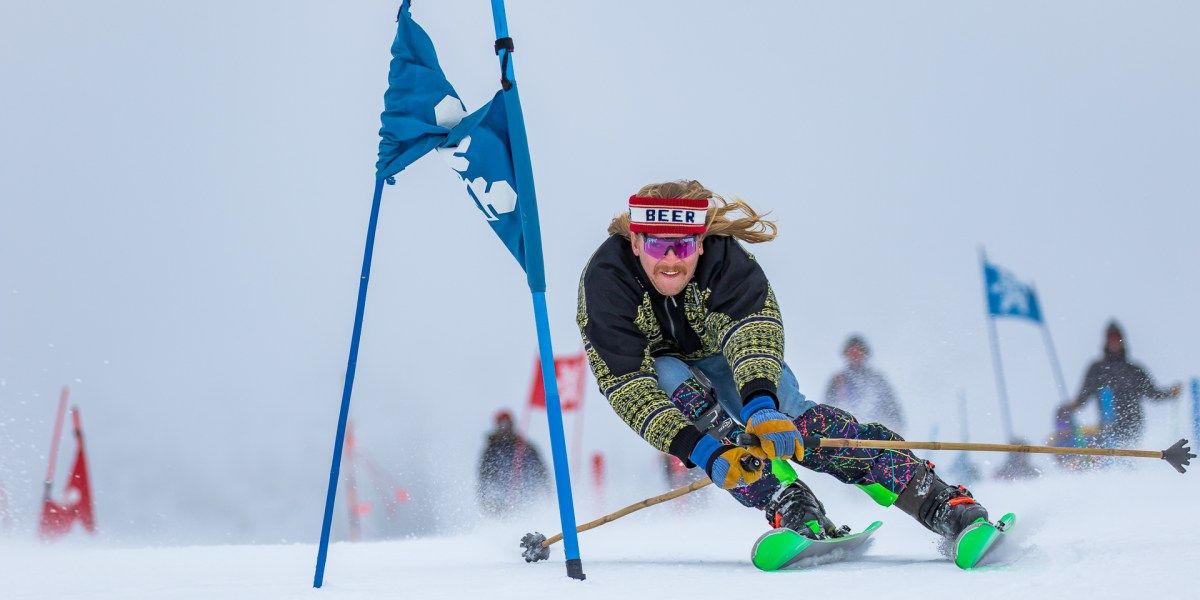 How One of Skiing's Wildest Characters Got Sober and Kept Raging