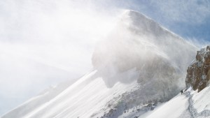 Tanner Flanagan skiing in the Jackson Hole Backcountry, WY.
