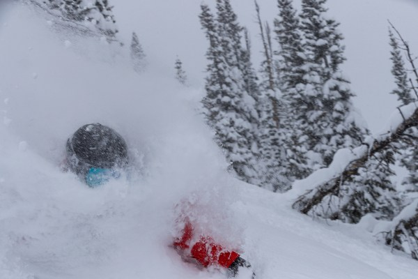 Forrest Jillson skiing in the Jackson Hole Backcountry, WY.