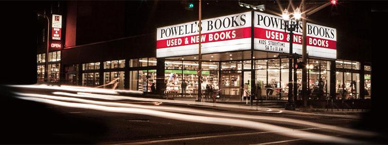 Powell's Books City of Books on Burnside