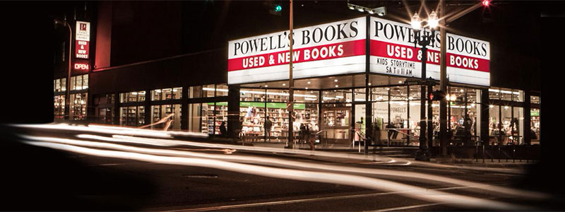 Powell s City of Books at Burnside   Powell s Books Powell s Books City of Books on Burnside