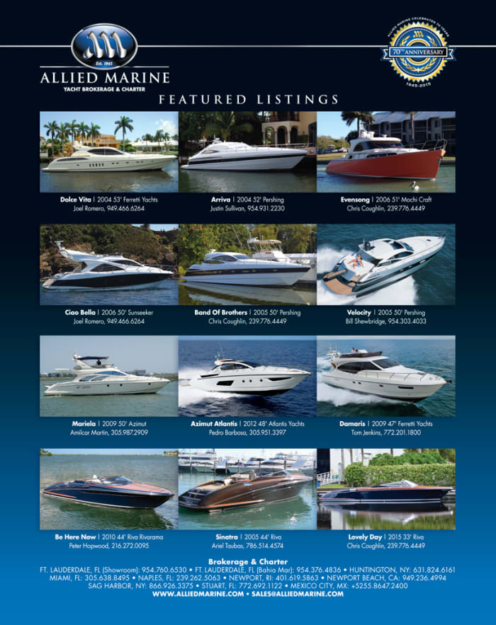 Allied Marine Power Amp Motoryacht