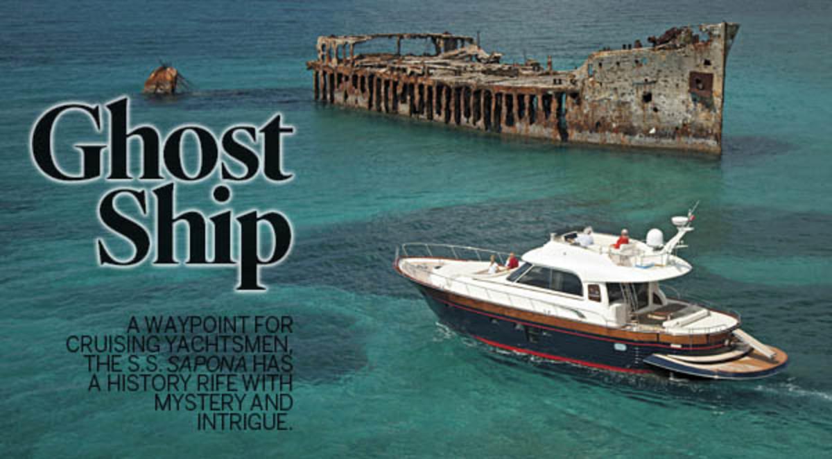 SS Sapona Power Amp Motoryacht