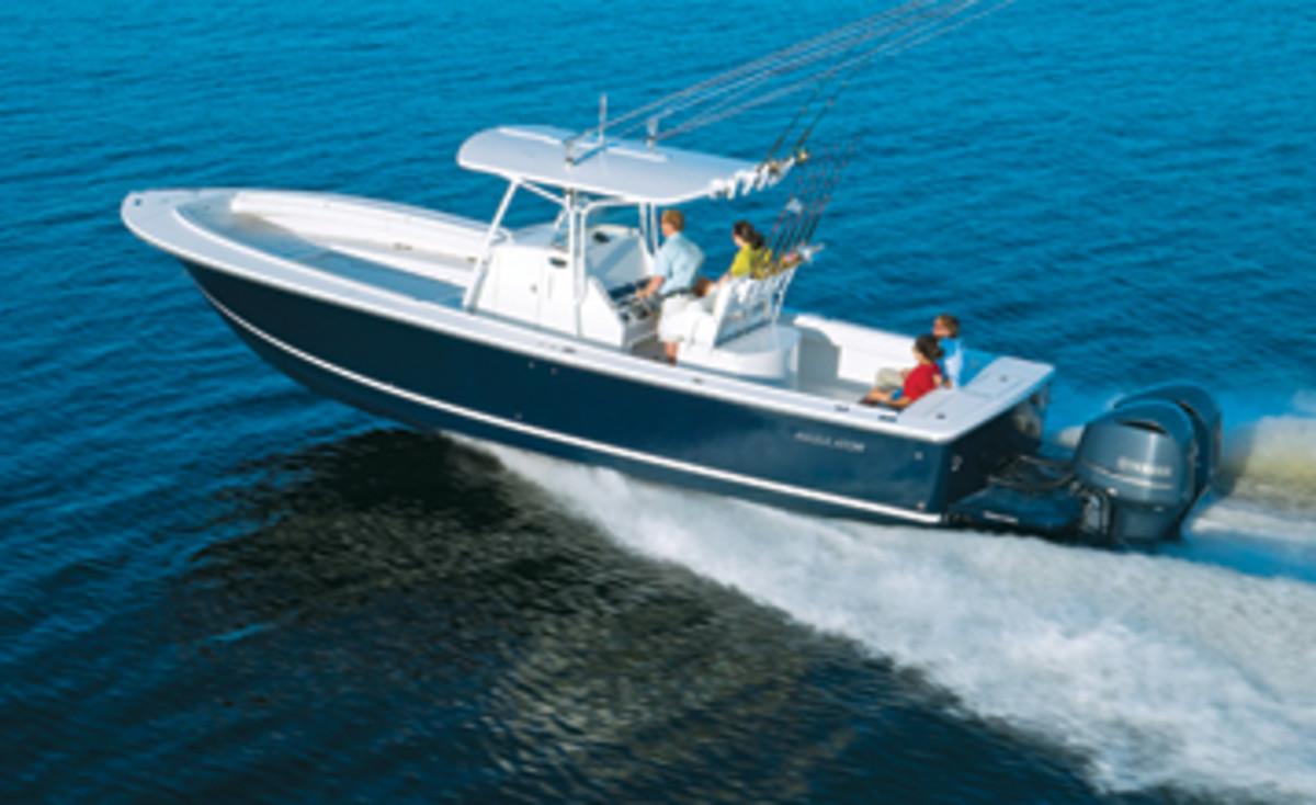 Regulator 34 SS Power Amp Motoryacht