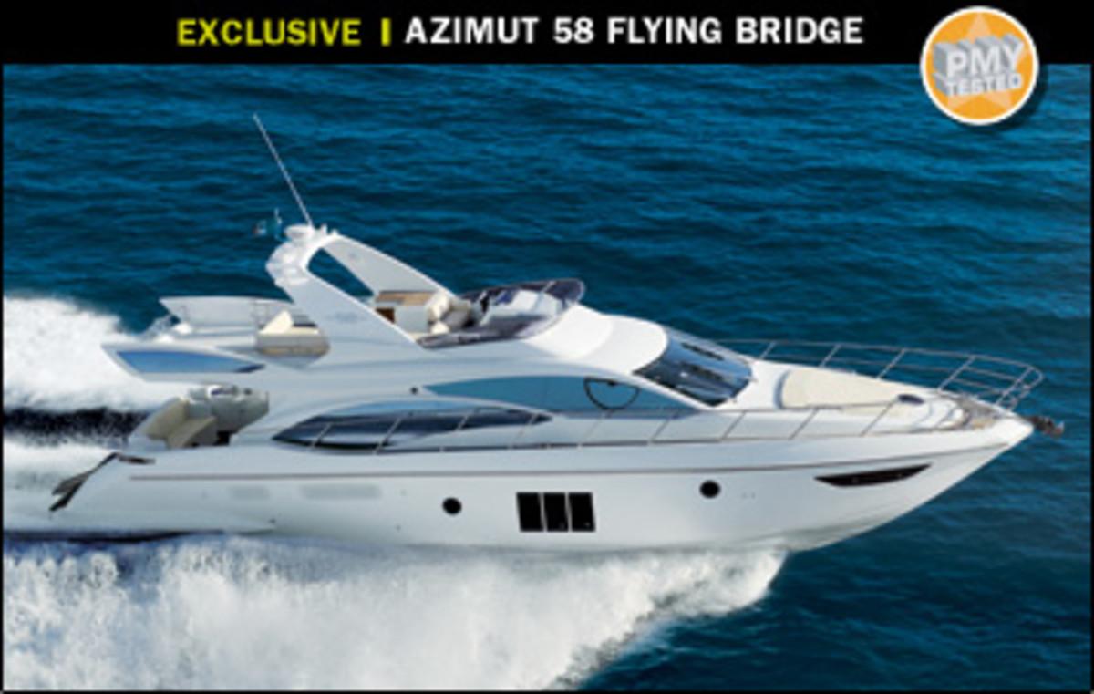 Azimut 58 Flying Bridge Power Amp Motoryacht