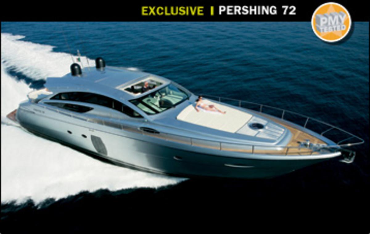 Pershing 72 Power Amp Motoryacht