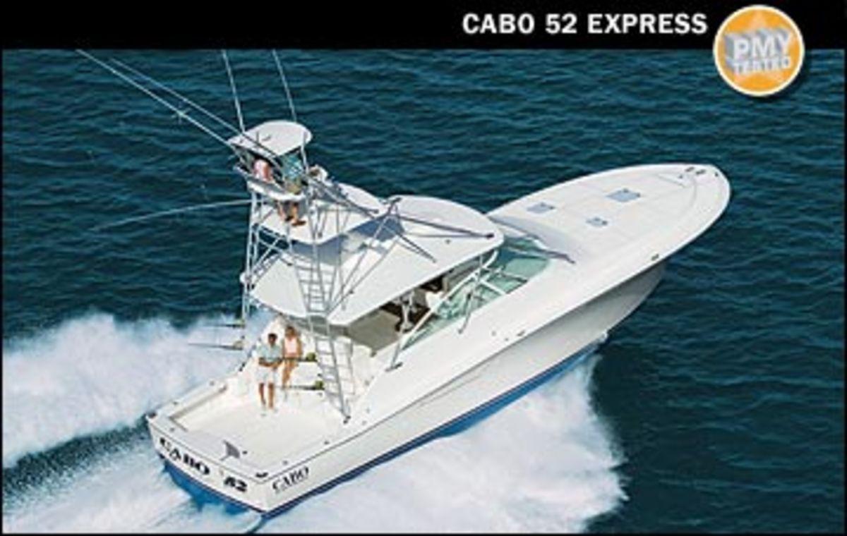 Cabo Yachts 52 Express Power Amp Motoryacht