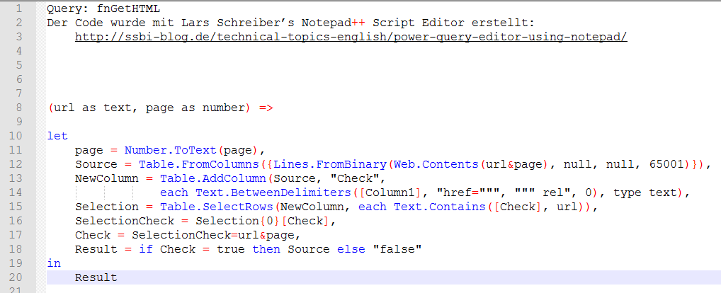 Iterating over an unknown number of pages in Power Query - avoid