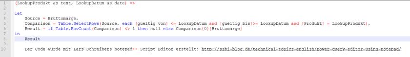 Funktion Tabellen zusammenfügen mit Bedingungen