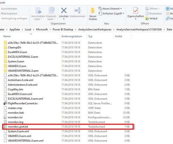 Ordner Data mit msmdsrv.port.txt
