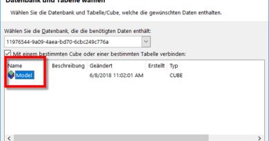 Datan aus Power BI Desktop importieren