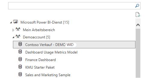 Reuse of existing Power BI data set