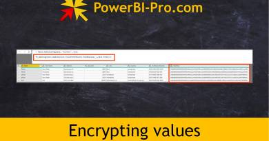 Encrypting Values in Power BI