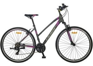 BICIKL POLAR FORESTER COMP ŽENSKI grey-purple najpovoljnija cena