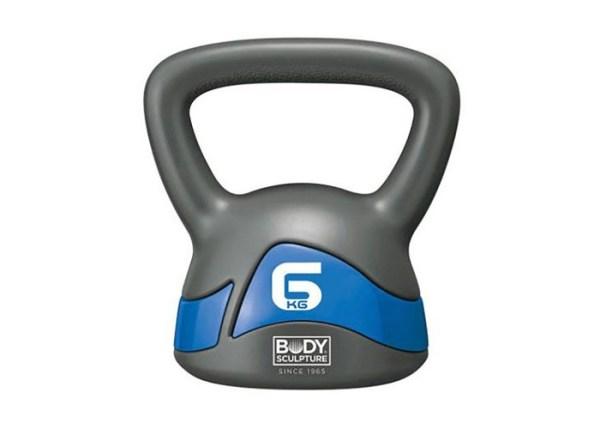 KETTLEBELL BW-117 6kg grey-blue