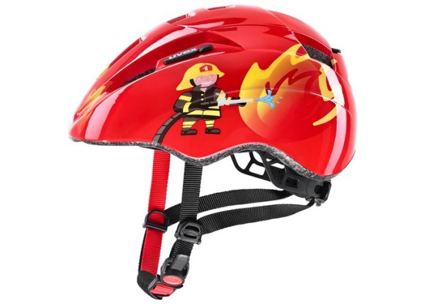 KACIGA UVEX KID 2 red fireman najpovoljnija cena