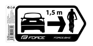 NALEPNICE FORCE SIGURNOST ZA AUTOMOBIL 184X84mm
