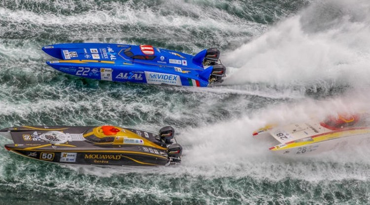 Raffaello Bastiani took Bronze in Offshore