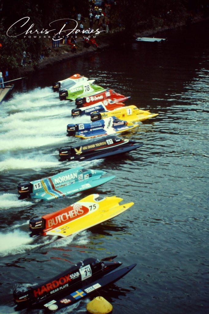 Course dans la réalité 2020 ⋆ Powerboat Racing World - Championnat d'Europe 2020