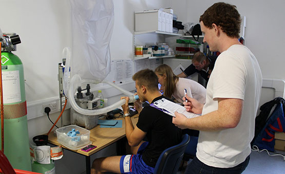EIA Found in Elite Footballers - Call for Lung Health Screening