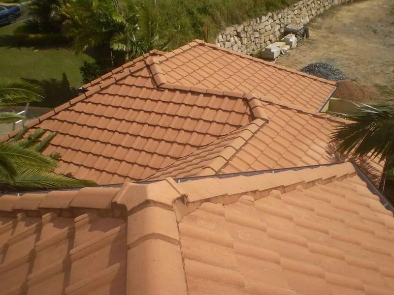 Perth roof restoration before