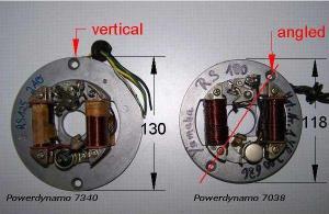 Powerdynamo for Yamaha RS100125