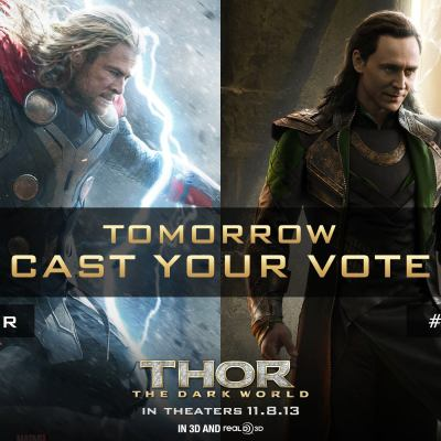 #ThorDarkWorld Exciting 24 HOURS ONLY Sweepstakes!