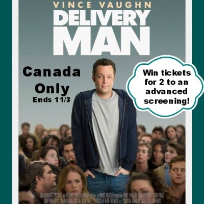 #Win Tickets to Advanced Screening of Delivery Man 8 Cities 8 Winners ends 11/3