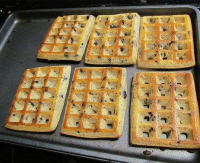 Oven Baked Waffles Recipe – Gluten Free Option Too!