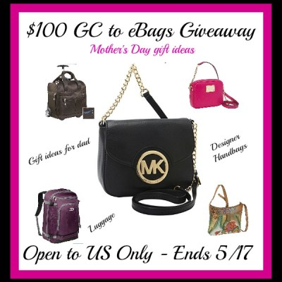 eBags Handbags & More Mother's Day Giveaway