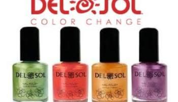 Del Sol Color Changing Nail Polish Giveaway