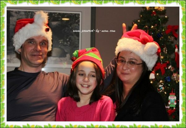 PBM Christmas pic framed