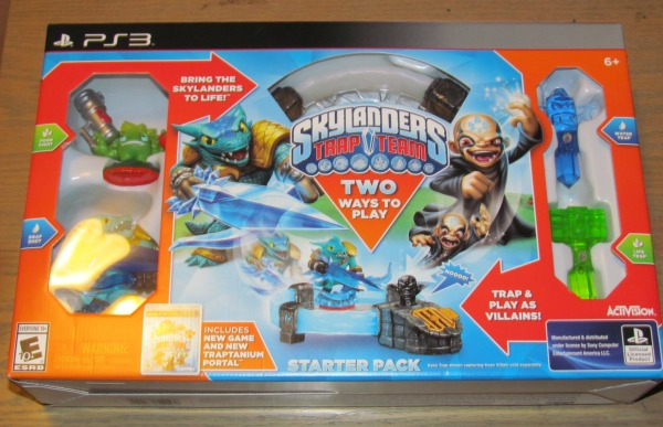 Skylanders Trap team box