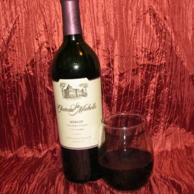 Chateau Ste Michelle Merlot Red Wine of the Weekend