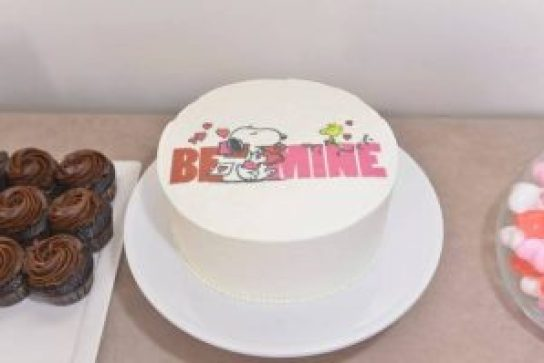 Snoopy-Valentines-Day-Cake
