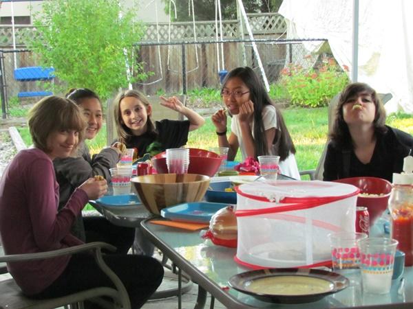 teen birthday bbq 2
