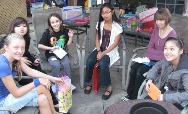 teen birthday bbq presents