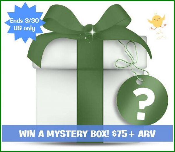 mystery box giveaway mar 27