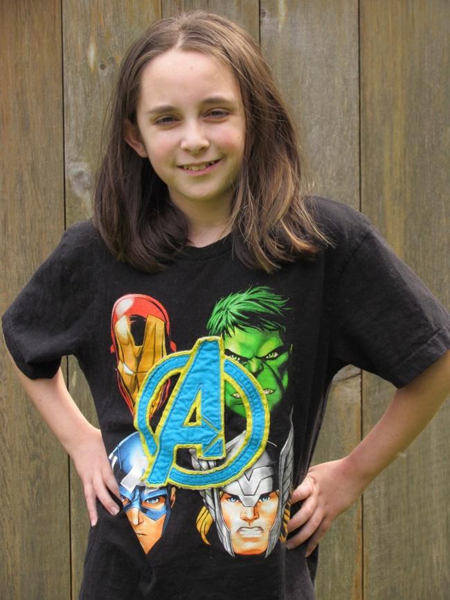 Avengers girl