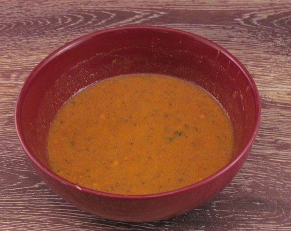 Modern Table Red Pepper sauce