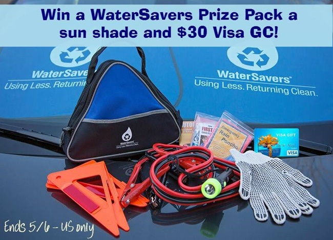 WaterSavers Prize Pack april 2015